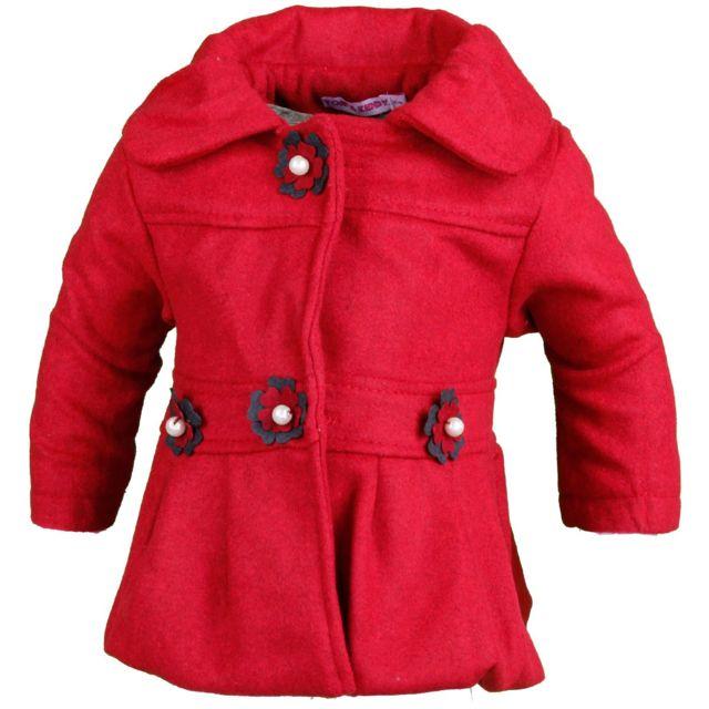 Manteau chaud fille pas cher