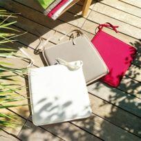 Coussin d'assise carrée coloris sable moorea