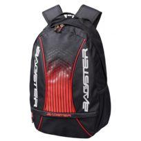 ab14d00f27 BAGSTER - sac à dos moto scooter PLAYER EVO PC noir-rouge 18L - XSD231
