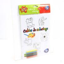 Be Toys - Cahier de coloriage et 6 Crayons de couleur