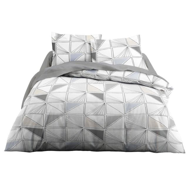 today parure housse de couette taies 100 coton. Black Bedroom Furniture Sets. Home Design Ideas