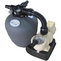 POOLSTYLE - groupe de filtration 8m3/h avec pompe et filtre à sable - 88031710