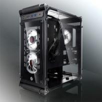 RAIJINTEK - Coeus Elite TC Micro-ATX, Tempered Glass - Noir
