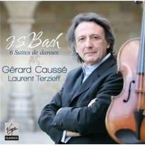 Parlophone - Johann Sebastian Bach | Gérard Causse - 6 suites de danses : Les 6 suites pour alto Boitier cristal