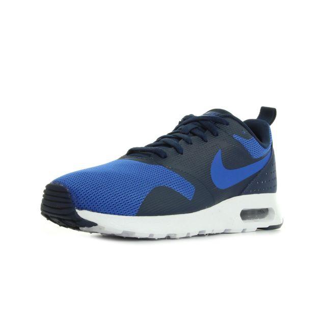 Nike - Air Max Tavas Bleu, Bleu marine, Blanc - 44 - pas cher Achat / Vente Baskets homme - RueDuCommerce