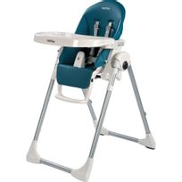 PEG PEREGO - Chaise haute bébé Prima Pappa Zero-3 Petrolio