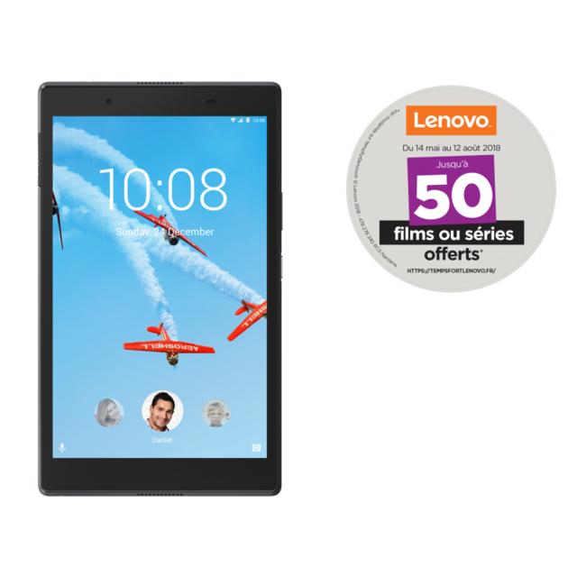 LENOVO - Tab 4 8 Plus - 8'' - Full HD - RAM 3Go - Noir