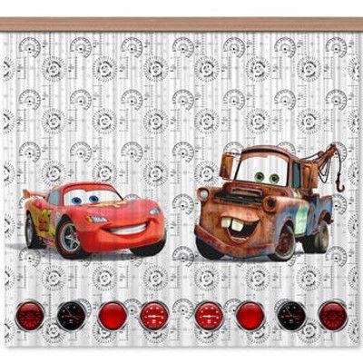 Bebe Gavroche - Rideaux Cars Flash Mcqueen et Martin Disney - Light ...