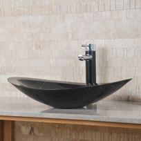Capri - Vasque ovale Zara - Marbre noir