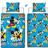 Character World - Parure de lit réversible Cool Mickey Mouse Disney