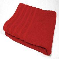 Decor Ligne - Serviette de toilette 90 x 150 cm Rouge