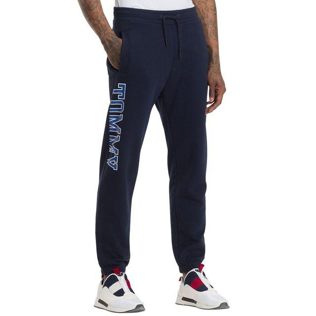 Tommy hilfiger - Essential College Pantalon jogging - pas cher Achat    Vente Survêtement homme - RueDuCommerce 6aec2ed48d3