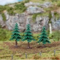 Faller - Modélisme accessoires de décor : Végétation : Arbres : 3 sapins