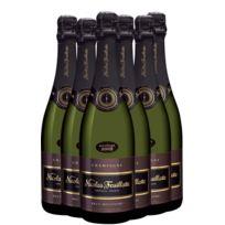 Champagne Nicolas Feuillatte - Lot de 6 bouteilles Nicolas Feuillatte Brut Millesime 2008