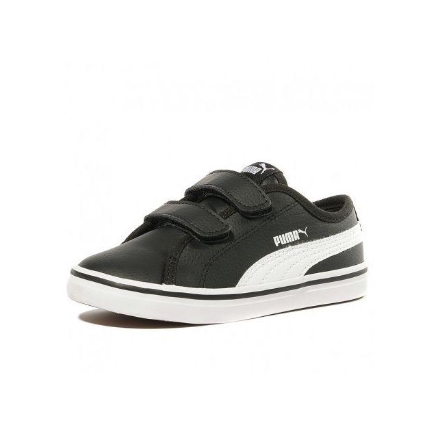 c98be5bafc3d0 Puma - Chaussures Elsu V2 Sl V Noir Bébé Garçon - pas cher Achat   Vente  Baskets enfant - RueDuCommerce