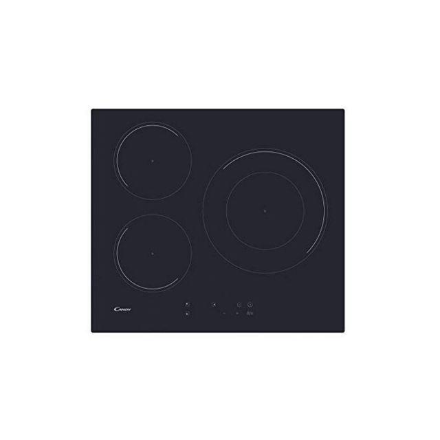 Candy Plaque à Induction Cid633C 60 cm 7100W 3 Zonas de Cocción, Noir