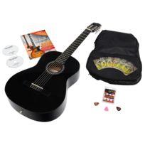 Antonio Calida - Calida Benita Guitare Classique 7/8 noir avec accessoires