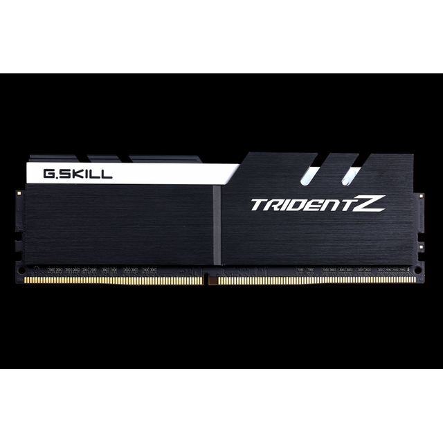 G.SKILL DDR4 Trident Z PC4-34100 4266 Mhz 2 x 8GB Intel Z270 platform noir-blanc Nouveau niveau de performance ultimeConçu pour les passionnés de PC, les overclockers et les joueurs extrêmes, la série Trident Z DDR4 est con&cced
