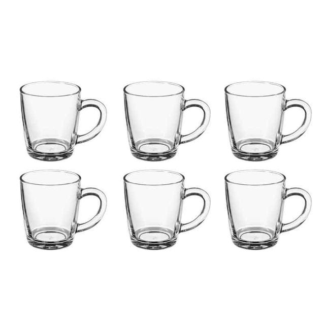 Paris Prix Lot de 6 Mugs en Verre \