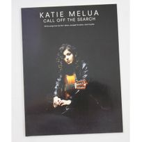 Wise Publications - Katie Melua - Call off the search - Piano voix guitare