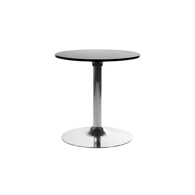Table basse design 60x60x60cm Marsu - noir