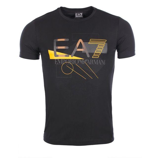 26b96cb596c43 Armani Ea7 - homme - T-shirt manches courtes 6XPT90 Pj20Z - pas cher Achat    Vente Tee shirt homme - RueDuCommerce