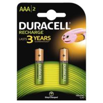 Duracell - Blister de 2 accu aaa 750a plus power