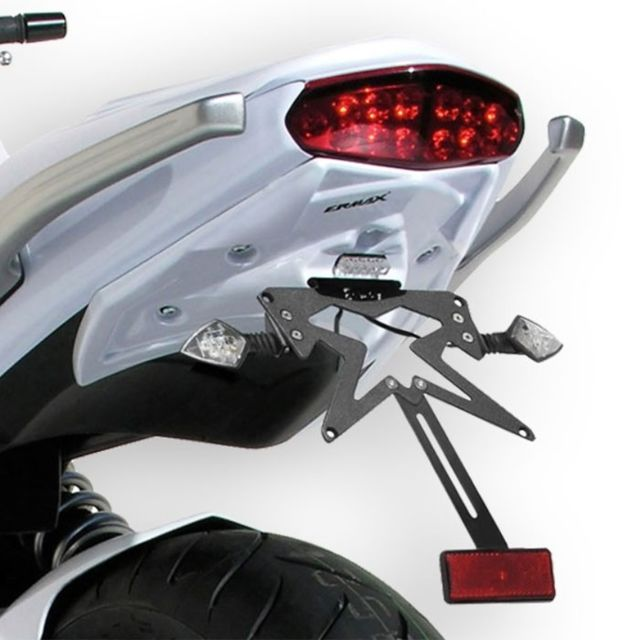 RG RACING Support de plaque Kawasaki 650 ER-6 N//F Noir