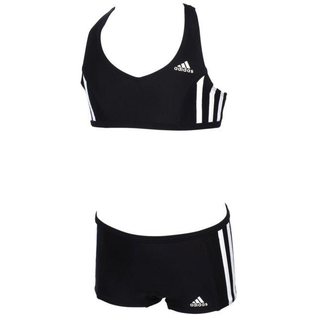 Adidas Performance Maillot bain 2 pièces I 3s noir 2p
