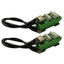 Aiphone - Connecteur Rj sur bornier pour raccord.câbles type Ly/SYT Cftpjm 130312