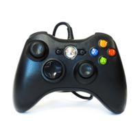 Hobby Tech - Manette De Jeu Filaire Pour Xbox360 - Noire