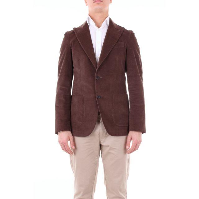 Messagerie Homme 007404T09170BROWN Marron Coton Blazer