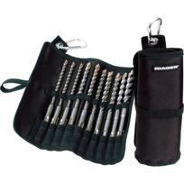 Diager - Trousse 10 forets sds plus booster + meches 6 à 14