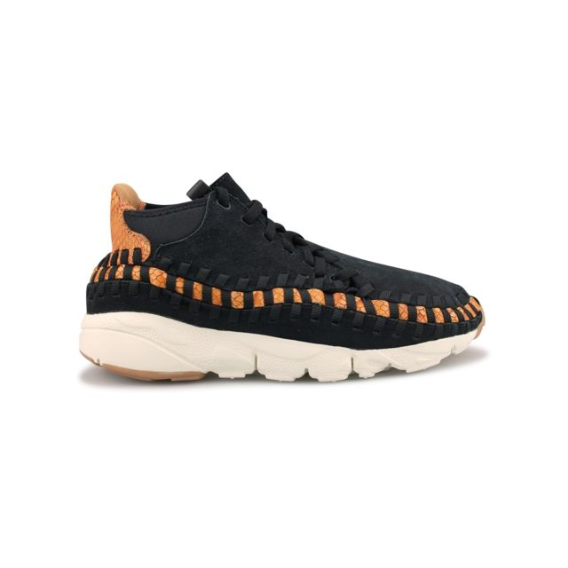 Nike Footscape Woven Chukka SE 857874-002 Homme Baskets Gris U27OQ