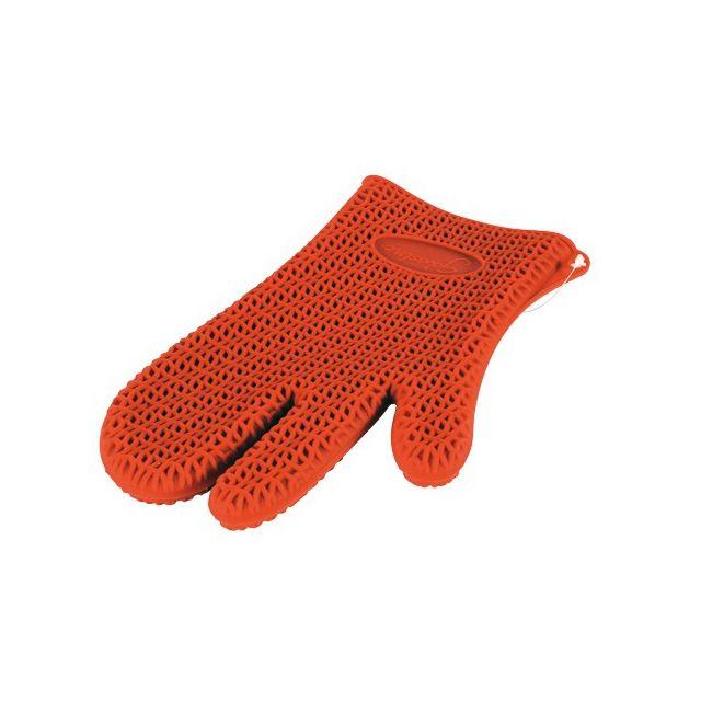 Guery Gant en silicone anti-chaleur rouge