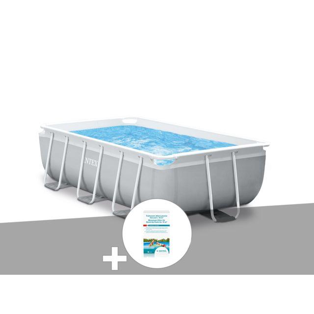 Intex kit piscine tubulaire prism frame rectangulaire 3 - Intex piscine tubulaire rectangulaire ...