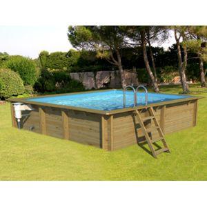 Cerland pool zen spa kit piscine bois weva carre35 3 for Piscine bois carree pas cher