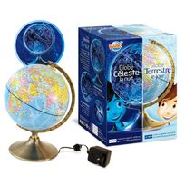 Bukifrance - Globe jouet et nuit - 7341B