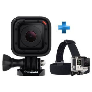 GOPRO - Pack Débutant Hero Session + Fixation bandeau Head Strap + QuickClip