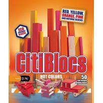 Citi Blocs - 0BCTBSW50 - Jeux De Construction Aux Couleurs Chatoyantes - 50 PiÈCES