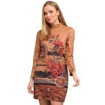 Blancheporte - Robe imprimée foulard - pas cher Achat   Vente Robes ... 6eb670f0369