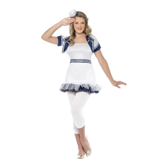 3ae1f2d5519e7e Déguisement femme marin sexy - pas cher Achat   Vente Panoplies -  RueDuCommerce