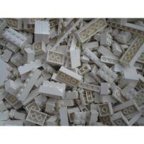 Q Bricks - Briques en vrac Qbricks Compatible Lego Blanc - 500 grammes
