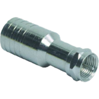 Axitronic - Rz176 - Connecteurs F à sertir - Sachet de 100 pièces