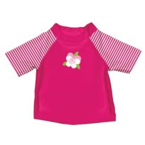 i play. - Mod T-shirt protection anti Uv Fuchsia 2 - 3 ans