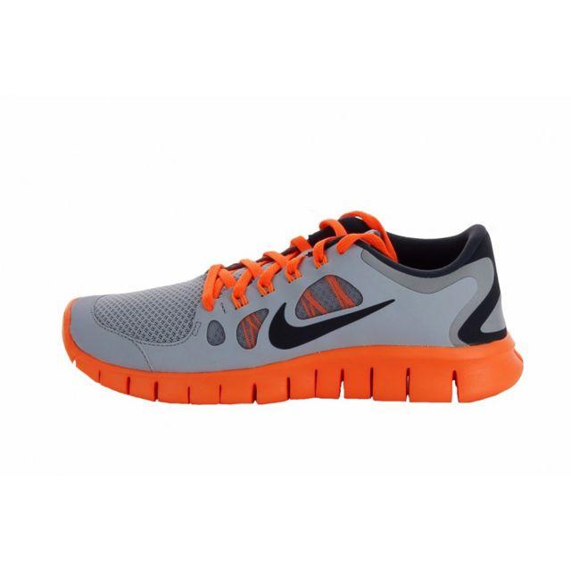 a1d75a16e14be Nike - Basket Free 5.0 Junior - Ref. 580558-005 - pas cher Achat   Vente Baskets  enfant - RueDuCommerce