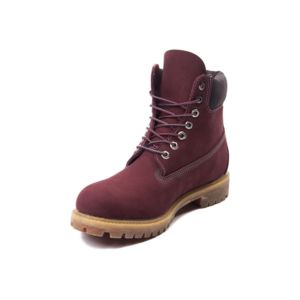 timberland bordeaux solde