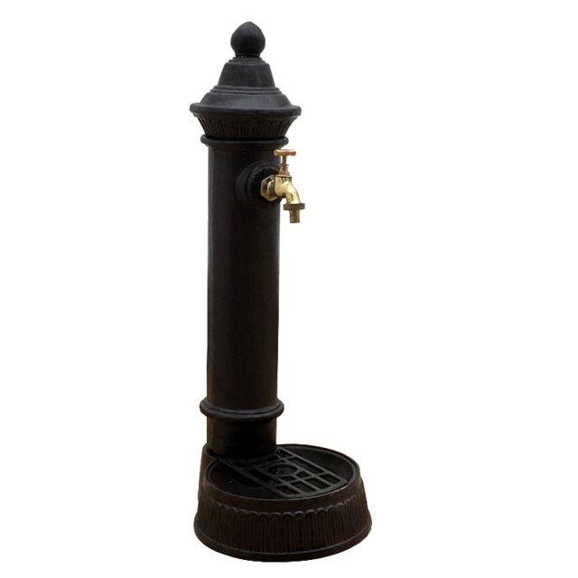 Lavabo puits Wandbrunnen 50,5 cm Fer de Jardin Nostalgie Style Fountain