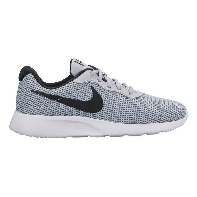 online store c1fbf b7f8e Nike - Chaussures Tanjun Se gris noir blanc - pas cher Achat   Vente  Chaussures fitness - RueDuCommerce