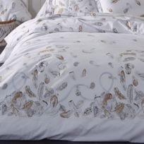 housse de couette 300x300 achat housse de couette 300x300 pas cher rue du commerce. Black Bedroom Furniture Sets. Home Design Ideas